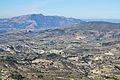 Vista de la vall de Seta amb la Mariola al fons des de la Serrella.JPG