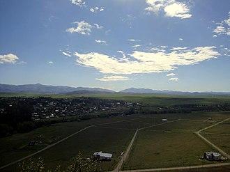 Sierra de la Ventana (mountains) - Image: Vista desde el Cerro Ceferino (Cerro del Amor) Sierra de la Ventana