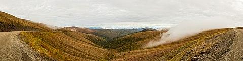 Vista desde la Autopista de la Cima del Mundo, Yukón, Canada, 2017-08-28, DD 54-58 PAN.jpg