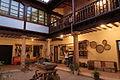 Vista patio Casa de los Jaenes, La Guardia, Toledo.JPG