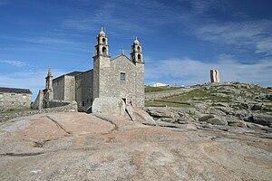 Virxe da Barca sanctuary - Image: Vistas do Santuario da Virxe da Barca, Muxía, Galiza