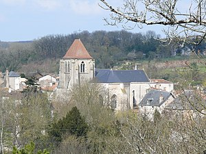 Vivonne - The church in Vivonne