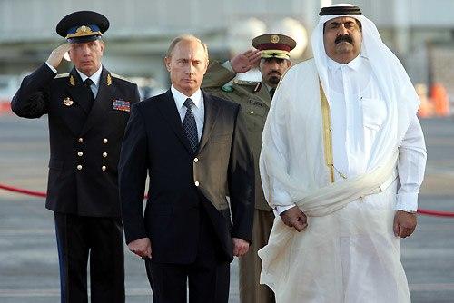 Vladimir Putin in Qatar 12 February 2007-1