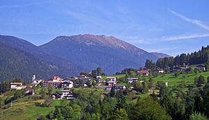 Fierozzo - the town of Fierozzo