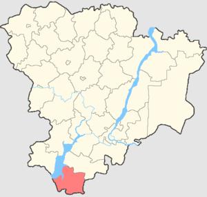 Kotelnikovsky District - Image: Volgogradskaya oblast Kotelnikovsky rayon