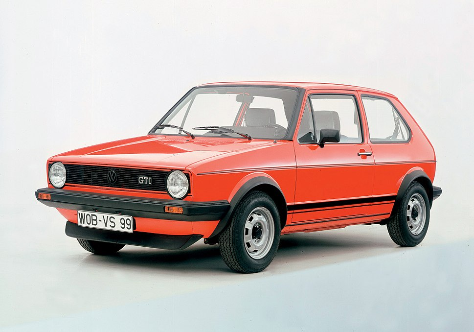 Volkswagen Golf Mk I GTI 001