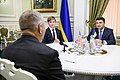 Volodymyr Groysman and Lawrence Summers in Ukraine - 2018 (MUS6928).jpg