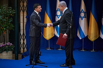 Volodymyr Zelensky in a working visit to the State of Israel, January 2020. XV.jpg