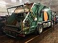 """Volvo FE 280 compacting waste collection truck (søppelbil for avfallhenting) for BIR (""""Bergensområdets Interkommunale Renovasjonsselskap"""") on car ferry Venjaneset–Hattvik, Hordaland, Norway 2018-03-21 A.jpg"""