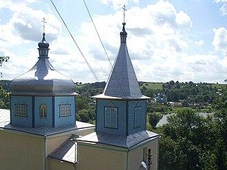 Vyshnivets - Image: Vyshnivets Voskresenska Church vlasenko