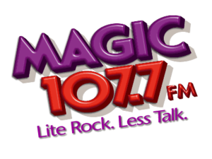 WMGF - Former logo of the radio station used from September 2001 through March 2005