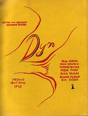 DYN (magazine) - First issue of the magazine, Mexico, 1942