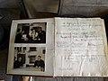 Waidhofen an der Ybbs - Gästebuch der Konditorei Piaty mit Bild und Unterschrift von Leopold Figl.jpg