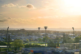 Seddon Park - Image: Waikato cricket ground