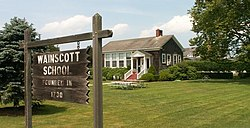 Wainscott one-room school
