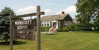 Wainscott, New York - Wainscott one-room school