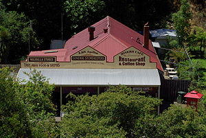 Walhalla, Victoria - A general store and modern café