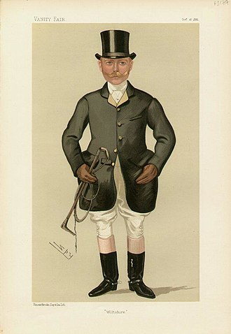 Walter Long, 1st Viscount Long - Image: Walter Hume Long, Vanity Fair, 1886 10 16