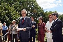 Il sindaco di Roma Veltroni nel 2007
