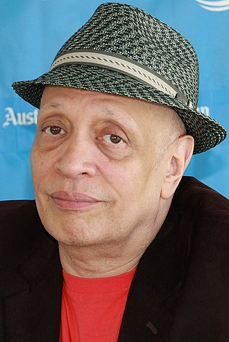 Walter Mosley - Mosley at the 2014 Texas Book Festival
