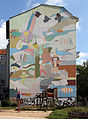 Wandbild Prinzenallee 60 (Gesbr) Wandbild&Marlene Jachmann&2006.jpg