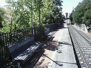 Wangaratta railway station - Image: Wangaratta railway station eastern platform