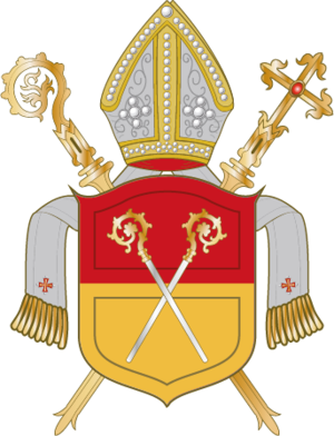 Diocese and Prince-bishopric of Schwerin - Coat-of-arms of the Prince-Bishopric of Schwerin