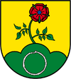Coats of arms from hedges