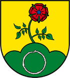 Coat of arms of the local community Hecken