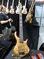 Warrior 5 string bass, 2010 Summer NAMM.jpg