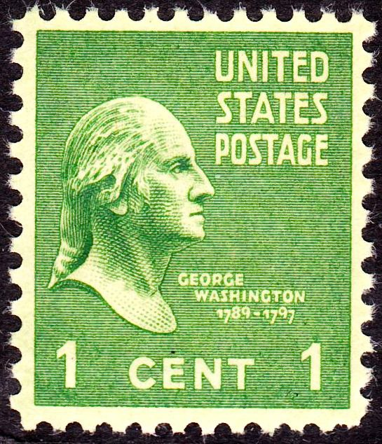 Washington 1938 Issue2-1c