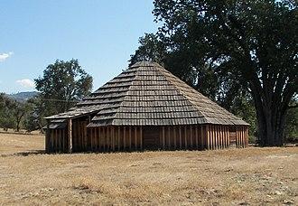 Madera County, California - Image: Wassama Roundhouse