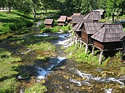 Watermills in Bosnia