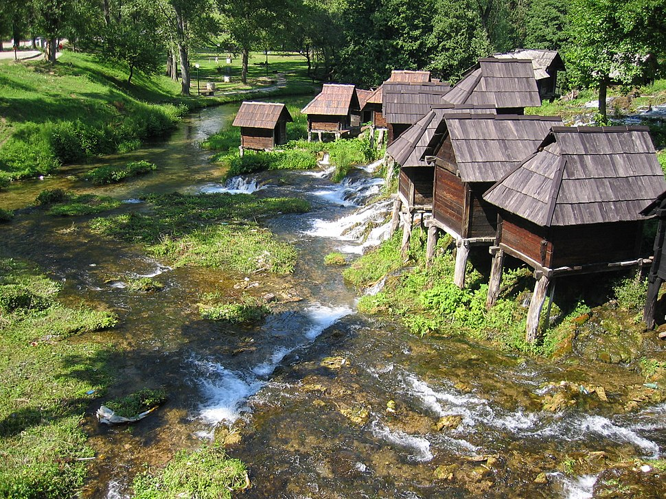 Watermills Pliva Jajce Bosnia