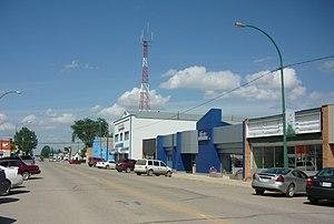 Watrous, Saskatchewan - Main Street
