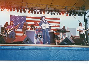 The Waylors - Waylon Jennings and the Waylors at the Rocky Gap festival in 1991