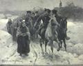 Weihnachtsritt bei den Lasowiaken (Zygmunt Ajdukiewicz, 1898).png