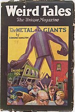Weird Tales cover image for December 1926