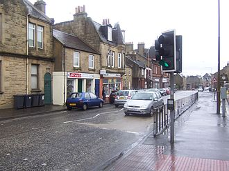 West Calder - West Calder Main Street looking towards the East End