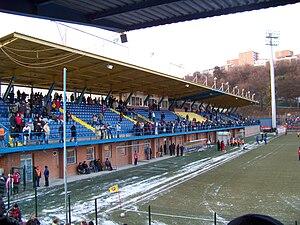 Letná Stadion - West stand