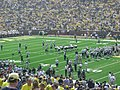 Western Michigan vs. Michigan 2011 02 (Western warming up).jpg