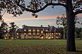 Westminster's Gund House at sunset.jpg