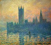 Le Parlement de Londres, Claude Monet, 1903 National Gallery of Art, Washington D.C.