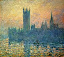 Клод монэ лондонский парламент