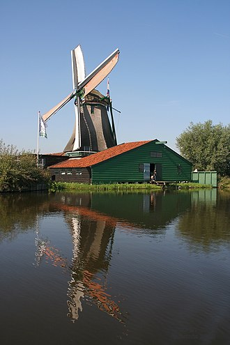 Rijksmonument - Many windmills are listed as rijksmonuments, such as De Schoolmeester, Westzaan