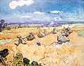 Wheat Stacks with Reaper - My Dream.jpg