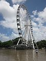 Wheel of brisbane during 2011 flooding.jpg