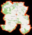 Wiśniew (gmina) location map.png