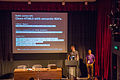 Wicke & Sastry at Parsoid; Dealing with Wikitext so you don't have to session at Wikimania 2014 (3).jpg