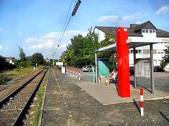 Wiesbaden-Erbenheim - Train station of Erbenheim